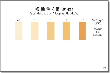パックテスト 銅(排水)